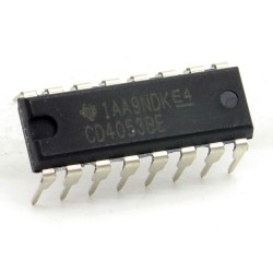 CI CD4053BE Analog Multiplexer-DeMultiplexers DIP-16 Texas 213ic086