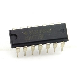 Circuit intégré CD4071BE CMOS Or Gate DIP-14 Texas 213ic087