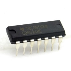 Circuit intégré CD4024BE Ripple-Carry counter DIP-14 Texas 213ic088