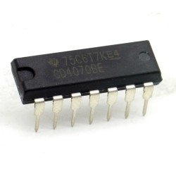 Circuit Intégré CD4070BE Quad Exclusive-OR gate DIP-14 Texas 214ic096
