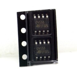 Circuit TJM4558CDT Wide band dual op-amps SOIC-8 ST