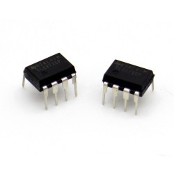 2x Circuit TLC272CP Dual Op-Amp precision DIP-8 - texas - 215ic115