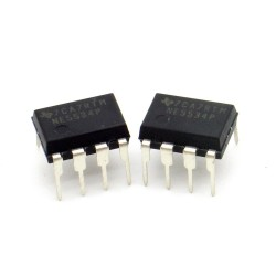 2x Circuit NE5534P Low-noise Op-Amp DIP-8 Texas instruments 216ic119