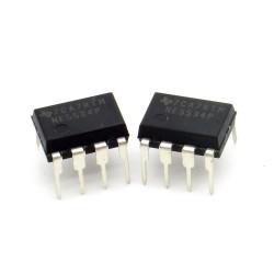 2x Circuit NE5534P Low-noise Op-Amp DIP-8 Texas instruments 216ic119