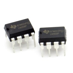 2x Circuit LM358P Low-power Dual Op-Amp DIP-8 - Texas - 216ic122