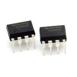 2x Circuit TL061CP J-Fet Op-Amp DIP-8 - Texas instruments - 216ic124