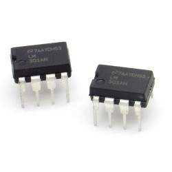 2x Circuit intégré LM301AN OP-Amp - National Semiconducteur - 216ic125