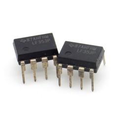 2x Circuit LF353P J-Fet input Dual Op-Amp DIP-8 - Texas - 216ic126