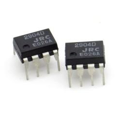 2x Circuit Intégré NJM2904D Dual Op-Amp DIP-8 - JRC - 216ic129