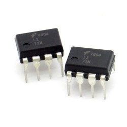 2x Circuit Intégré L272M Dual Op-Amp DIP-8 - Fairchild - 216ic130