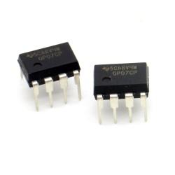 2x Circuit OP07CP Op-Amp Precision DIP-8 - Texas - 216ic132