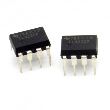 2x Circuit TL02CP Operational Amplifier DIP-8 - Texas - 216ic137