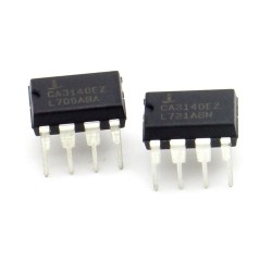 2x Circuit CA140EZ BiMOS Op-Amp DIP-8 - intersil - 217ic138
