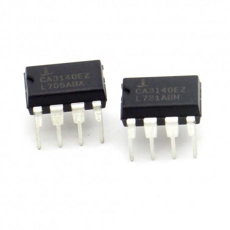 2x Circuit CA140EZ BiMOS Op-Amp DIP-8 - intersil