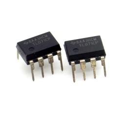 2x Circuit TL071CP J-Fet Op-Amp DIP-8 - Texas - 217ic141