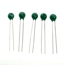 5x Thermistance MF11 101K - 100ohm NTC 10% - 2.5mm - 93ther005