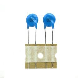 2x Condensateurs de sécurité 4.7nF - 250vAc - Murata - 123con441