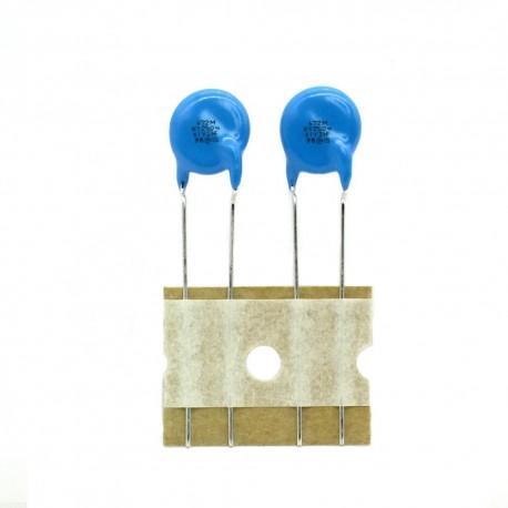 2x Condensateur suppression 4.7nF - 250vAc - Murata