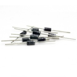 10x Diode redressement 1N5404 - 400v - 3A - MDD - 128diod022