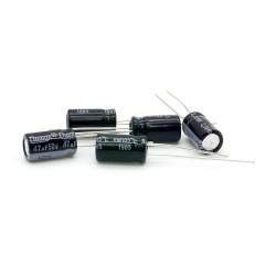 5x Condensateur chimique Radial 47uF 50V 6.3x11mm - 237con449