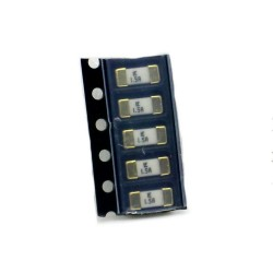 5x Fusible rapide - 1.5A 125v - 1808 SMD - 6x2.7x2.7mm Littelfuse - 220fus279
