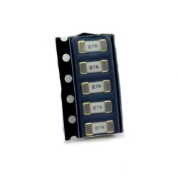5x Fusible rapide - 7A 125v - 1808 SMD - 6x2.7x2.7mm Littelfuse - 220fus280
