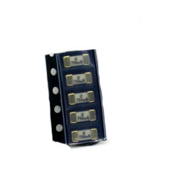5x Fusible rapide - 750mA 125v - 1808 SMD - 6x2.7x2.7mm Littelfuse - 220fus281
