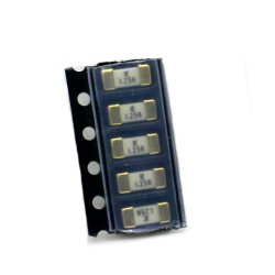 5x Fusible rapide - 1.25A 125v - 1808 SMD - 6x2.7x2.7mm Littelfuse - 220fus282