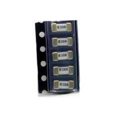 5x Fusible rapide - 20A 65v - 1808 SMD - 6x2.7x2.7mm Littelfuse - 220fus285
