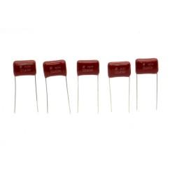 5x Condensateur CBB 222J - 2.2nf - 630v - P:10mm - SRD - 222con470