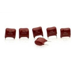 5x Condensateur 104 - 100nf 100v p:7.5mm - Dersonic 223con474