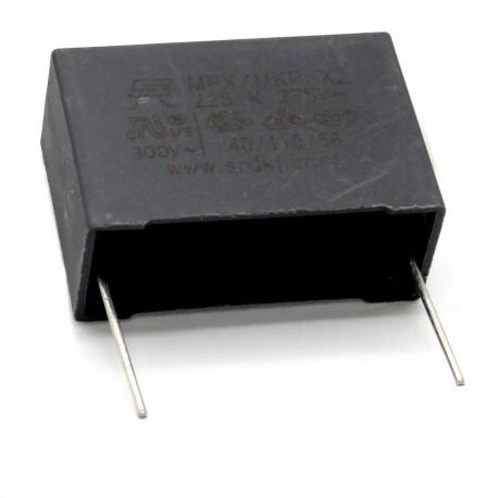 2x Condensateurs MPX MPK X2 225K 2.2uf P:27.5mm 275V