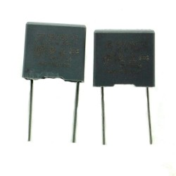 2x Condensateurs MPX MPK X2 104K 100nf P:10mm 275V - SRD - 227con494