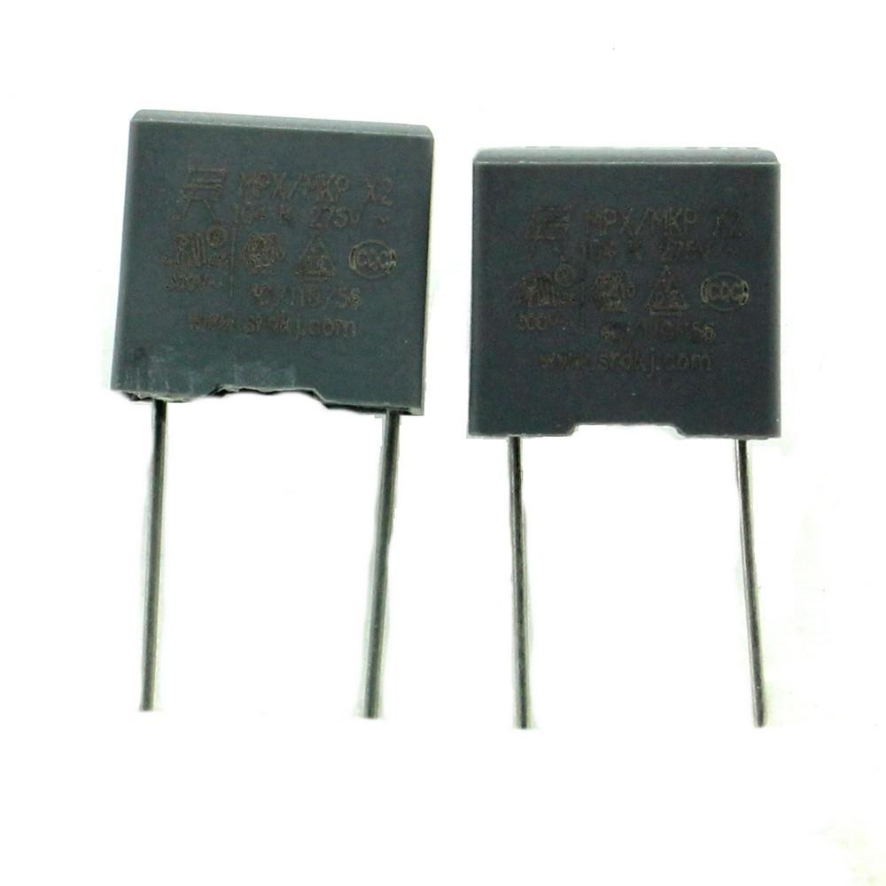 226con489 2x Condensateurs MPX MPK X2 104K 100nf P:15mm 275V