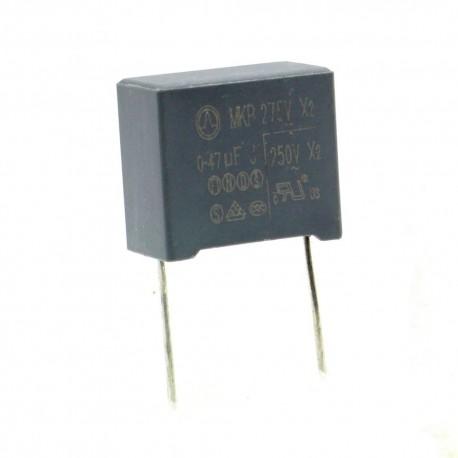 Condensateur MPK X2 0.47uf P:15mm 275V - Tongfeng
