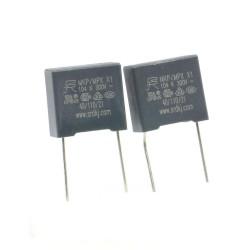2x Condensateurs MPX MPK X1 104K 100nf P:10mm 275V - 229con505