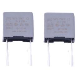 2x Condensateurs MPX MPK X2 224K 220nf P:10mm 275V - SRD - 229con509