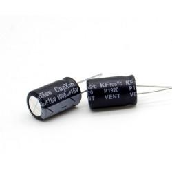 2x Condensateur 1000uF 16V 10x16mm - pas: 5mm Capxon - 236con537