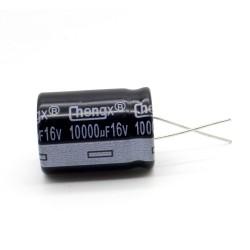 Condensateur 10000uF 16V 22x30mm - pas: 10mm Chengxing - 236con539