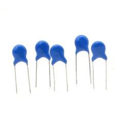 5x Condensateur ceramique 22pf - 1kv - 1000v Haute Tension - 123con541