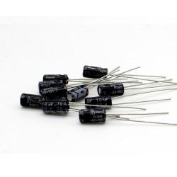 10x Condensateur 10uF 50V 4x7mm pas: 2.5mm - Hyncdz - 237con550
