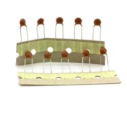 10x Condensateur Céramique disque 47nf - 50v - pas: 5mm - Songtian - 239con557