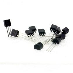 10x Transistor 2N3906 - PNP - TO-92 - Changjiang Electronics - 240tran064