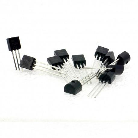 10x Transistor 2N3906 - PNP - TO-92 - Changjiang Electronics