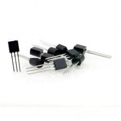 10x Transistor 2N2222A - NPN - TO92 - Semtech - 240tran065