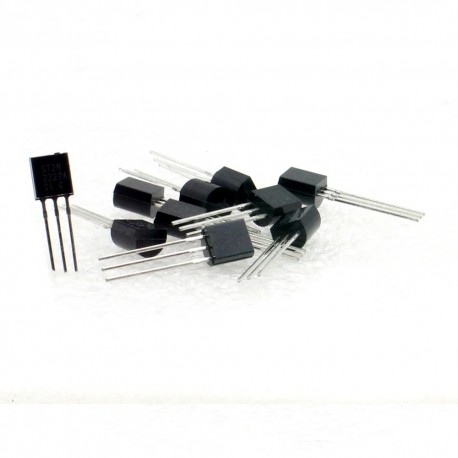 Transistor bipolaire NPN 2N2222A Boitier TO92 20 Pi/èces