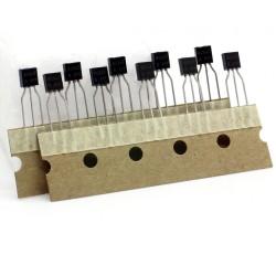 10x Transistor BC547 - NPN - TO-92 - Changjiang - 240tran068