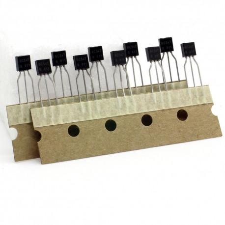 10x Transistor BC547 - NPN - TO-92 - Changjiang
