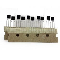 10x Transistor 2N2222A - NPN - TO92 - Foshan Blue Rocket - 240tran069