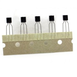 5x Transistor 2N4403 - PNP - 40V 600mA - TO92 - Fairchild - 240tran070